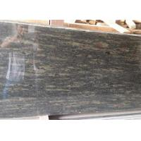 Quality Green granite tiles Cocktail Green granite stone tiles polished finished for sale