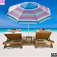 Quality 2018 OEM new products sun beach umbrella outdoor with customized size factory in China for sale