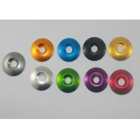 Quality Aluminum countersunk washers  ¢6*18  / ¢8*20 anodized different color for sale