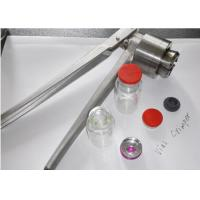 China Manual Bottle Capping Machine For Steroid Or Peptide Vials 300mm × 60mm × 80mm on sale