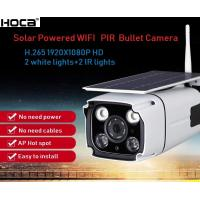Quality 2019 newest outdoor weather proof 1080P 2Mp Solar Wireless Max.128G SD PIR IP IR Camera with Two Ways Audio and APP IP66 for sale