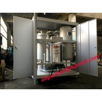 Quality Dirty Turbine Oil Demulsifier Flushing Unit,Turbine Oil Dehydrator Removing Free Water and Dissolved Water,Emulsion lube for sale