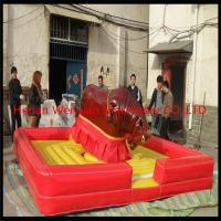 Quality Certificates approved high speed amusement mechanical rodeo bull price for sale