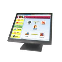 Quality 17 Inch Touch Screen Pos Terminal Black Color 350cd / M2 Brightness For Coffee Shop for sale