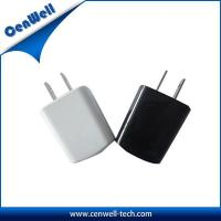 China cenwell smart us plug 5v1a travel charger on sale