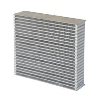 Quality Customized Aluminum inter cooler core for air to air heat exchangers for sale