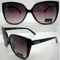 Quality Modern Cool Brown Lens Plastic Frame Sunglasses CE For Women for sale