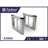 Quality Running Stable Electronic Turnstile Gates , Pedestrian Swing Barrier Gate for sale