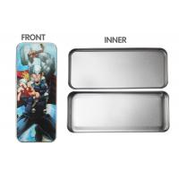 Quality 3d Lenticular Pencil Box Tin For Children , Tin Pencil Box For Gifts for sale