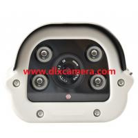 Quality DLX-IBE4D10 1280x720P 1Mp Outdoor Water-proof POE IP 4pieces Arrays IR Bullet Camera 720P Outdoor IP POE Bullet Camera for sale