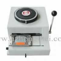 China PVC Card Embosser Machine on sale