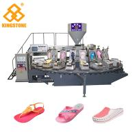 120-200 Pairs / Hour PVC lady's Sandal Slipper Making Machine Single Color Air Blowing Machine