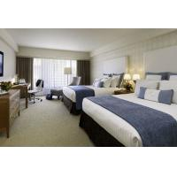 Buy Deluxe Hotel Room Furnishings , King Size Hotel Guest Room Furniture In PU at wholesale prices