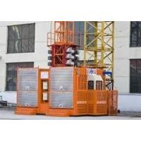 Quality Steady property reliability SCD200 / 200P double cages construction hoist elevator with 2T for sale