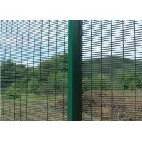 Buy Welding Steel Wire Fencing Anti Cut and Climb 358 High Security Fence For at wholesale prices