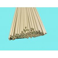 Quality Chemical Resistance PEEK Rods Khaki For Bushes / Metering Pumps for sale