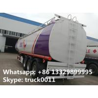 Quality CLW brand triples axles 50,000L oil tank trailer for sale, factory sale BPW/FUWA 3 axles 50cubic meters fuel tank traile for sale