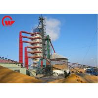 Quality Single Outdoor Corn Dryer Machine With Husk Burner 100 - 1000 Tons Capacity for sale