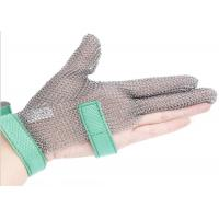 Quality Butcher Anti Cutting Stainless Steel Gloves With Metal Plates , High Strength for sale