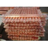 Quality Oxygen Free Round Copper Rods With Insulated , Copper Bonded Rods for sale
