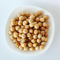 Quality Healthy Snacks High Nutrition Roasted Chickpeas Salted / Black Pepper Flavor for sale