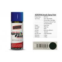 Quality AEROPAK with MSDS and SGS certificate grass green color acrylic Spray Paint for sale