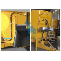 Quality Tulip Yellow Livestock Feed Grinder Mixer Animal Feeding Equipment 540RPM / Min for sale