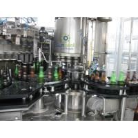 Quality Multi-Head Volumetric Beer Bottling Machine Glass Bottle With Programmable Controller for sale