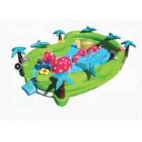 Buy cheap Safety Jungel Seaworld Adventure Inflatable Toddler Playground 24ft x 16ft x 6ft from wholesalers
