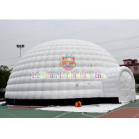 Buy Giant Inflatable Igloo Tent For Event , Unseal Inflatable Advertising Tent For Sale at wholesale prices