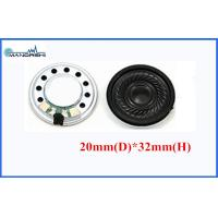 Buy cheap 20mm Round Portable Mini Mylar Speaker Fo-20kHz 0.5W For Computer from wholesalers