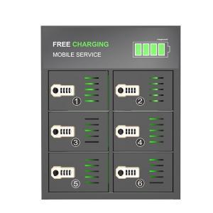 Buy Popular mobile phone 6 bay charging locker at wholesale prices