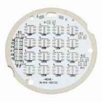 Quality Aluminum Base PCB for LED, Good Heat Resistance and Thermal Conductivity for sale