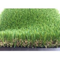 Quality Real Looking Luxury Artificial Grass Garden UV Resistant 40mm SGS Approved for sale