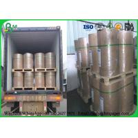 Quality 100% Virgin 889mm 80g Uncoated Printing Paper , Jumbo Roll Inkjet Printing Paper for sale