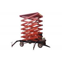 Quality Outdoor self propelled elevating work platforms Color customized For Aerial Work for sale