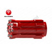 Quality Stable Drilling Speed Threaded Button Bits , Drill Bits For Water Well Drilling for sale