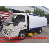 Buy cheap HOT SALE! customized good price Forland 4*2 RHD 108hp smaller diesel road sweeper truck, street sweeping vehicle from wholesalers