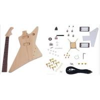 Quality Unfinished DIY Electric Guitar Kits , Flying Style Double Humbucker Guitar AG-FV3 for sale