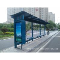 Quality 12mm tempered / toughened glass for bus station with ISO9001, CE, Australia  AS/NZS 2208 Certificate for sale