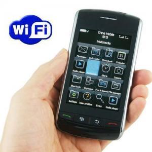 Quality A9530 - WIFI and TV dual sim dual standby quadband blackberry phone for sale