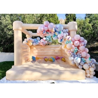Quality White Wedding Bouncy Castle House , Wedding Bounce House for sale