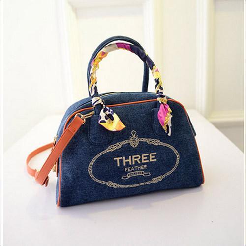 Buy Fashion Woman Lady Classic Canvas Tote Bag Handbag wholesale at wholesale prices