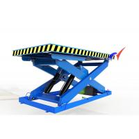 Quality Steady Performance Low Profile Scissor Lift , Hydraulic Lift Table Wtih 85mm Closed Height for sale