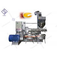 Buy cheap Automatic Home Black Seed Screw Oil Press Machine 2650 * 1900 * 2700mm from wholesalers