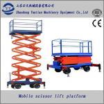 Quality mobile hydraulic scissor lift platform for construction for sale