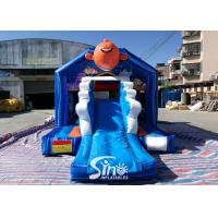 Quality small inflatable bounce house bouncy Castle With Slide Combo Jumper For Inflatable Games bounce house slide combo for sale