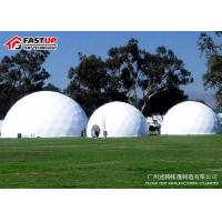 Quality Popular White  Diameter  8M  Geodesic  Dome  Party  Tent for sale