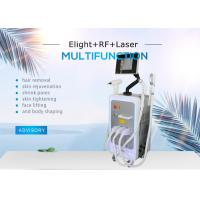 China SHR ND YAG E-light IPL RF Machine For Wrinkle Therapy / Tattoo Removal / Hair Reduction on sale