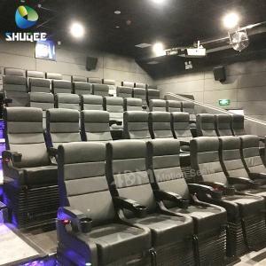 Quality 4D Motion Seats 7D Mini Cinema System Hall Amusement Park Equipment for sale
